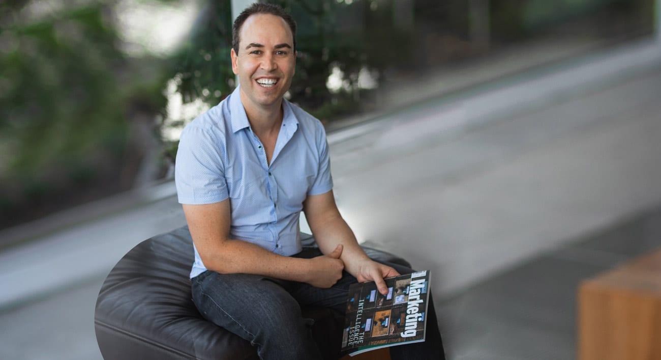 Picture of Kieran Duffey Smiling- Brisbane Copywriter