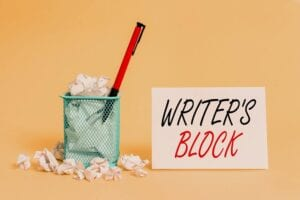 Overcoming Writer's Block: One Simple Tip