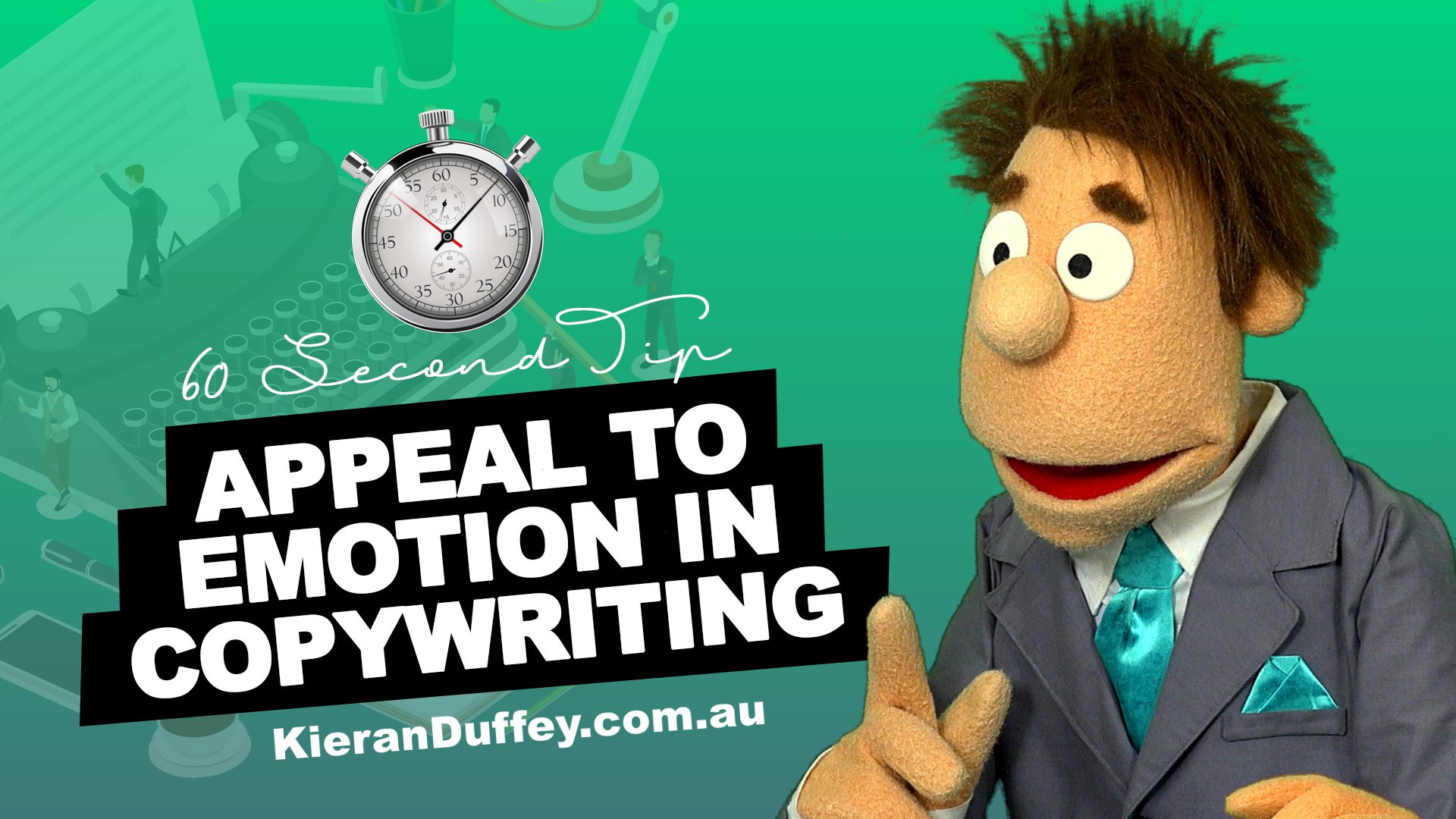 Video explaining importance of appealing to emotion in copywriting