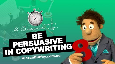 Video explaining why you need to be persuasive in copywriting