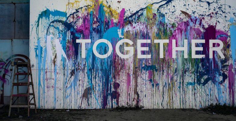 Together signage