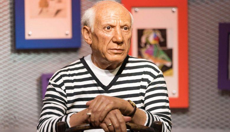 sculpture of Pablo Picasso