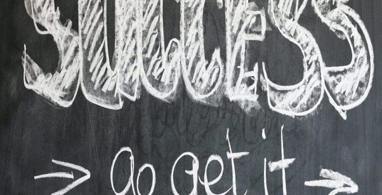 success go get it written on blackboard