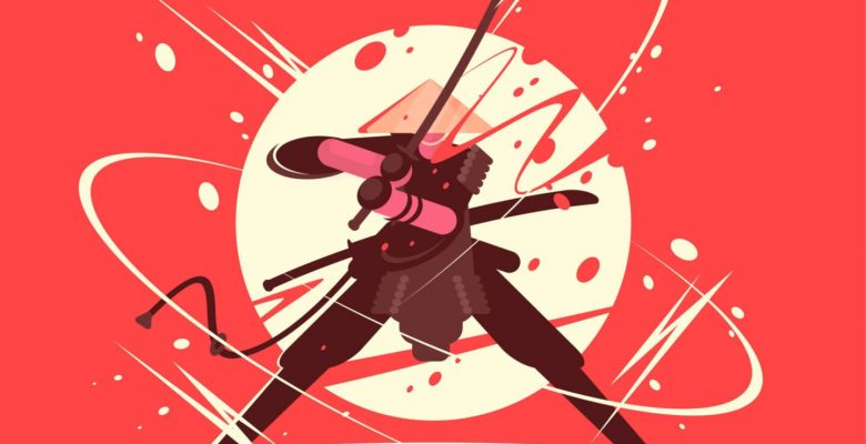 The Symmetry of 3's is an Art that Can be Mastered much Like the Art of a Samurai!
